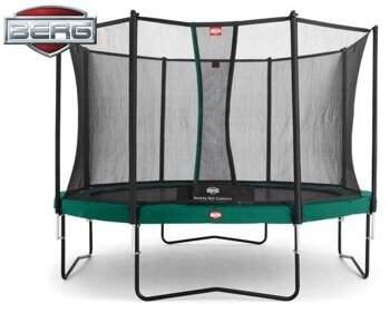 Батут Berg Favorit 270 + Safety Net Comfort